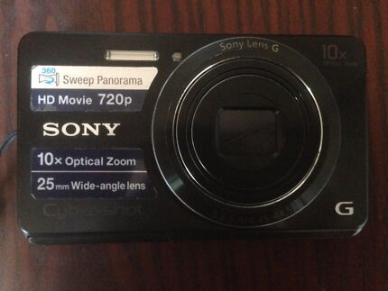 SONY Cyber-Shot DSC-W690 Digital Camera - 16.1 Megapixel