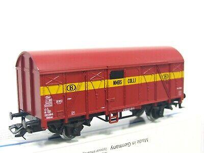 Märklin H0 4404 ged. Güterwagen Gkklms Colis SNCB DC VP (LN5753)