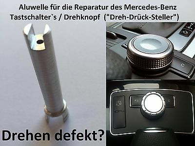 Mercedes Welle Achse Stift Comand Controller Drehknopf Drehrad W204 W212 Repair