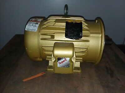 Baldor Cem3661t 3hp Electric Motor 230460v 3ph 1755 Rpm 182tc Frame New