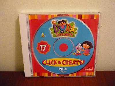 Dora The Explorer Click and Create PC CD-ROM Doctor Dora