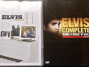 2 New and 1 used DVD Of Elvis....