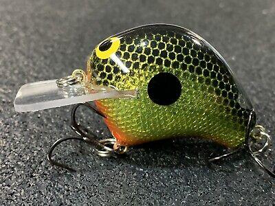 Custom Wood Crankbait Plemmons Color M4 Deep Diver Whiptail Lures