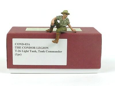 John Jenkins Designs Cond 03A T 26 Tank Commander 1 30 Collectible Soldiers
