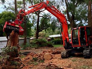 Excavator mulcher rural fencing & earthmoving The Patch Yarra Ranges Preview