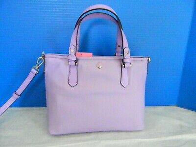 NWT KATE SPADE NEW YORK TAYLOR IRIS BLOOM SMALL CROSSBODY TOTE/BAG PXRUA430