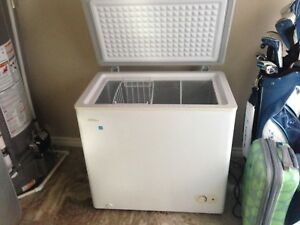 Danby chest freezer 5.5 cubic feet 3 yrs old