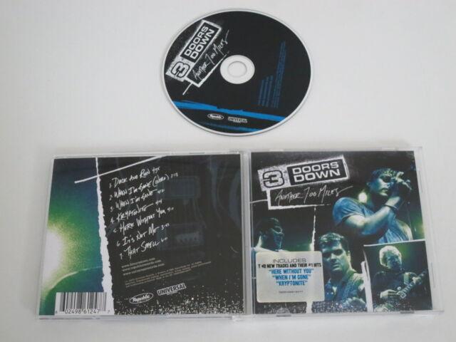3 DOORS DOWN/ANOTHER 700 MILES(REPUBLIC-UNIVERSAL 0602498612477) CD ALBUM