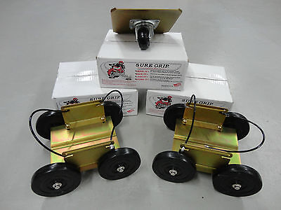 SURE GRIP DOLLIES PS-6112 NEWEST EXTENDED LONG BASE MADE IN U.S.A. FREE SHIP!
