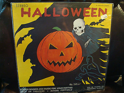 1960'S HALLOWEEN SOUNDS & MUSIC RECORD LP  LIMITED  SEALED](Halloween Sounds Record)