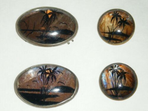 Art Deco Butterfly Wing Replacement for Ring, Pin/Brooch, Earrings or Cufflinks