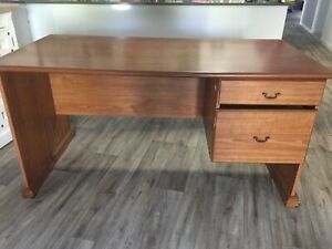 Desk wooden large