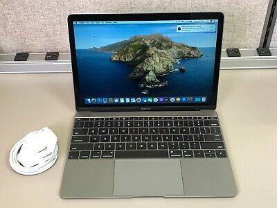 "APPLE MACBOOK RETINA 12"" A1534 2016 CORE M3 1.1GHz 8GB 256G MLHA2LL/A SPACE GRAY"