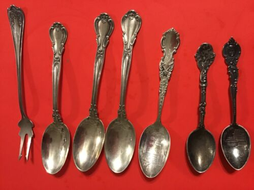 WHOLESALE  Sterling Silver . SPOONS  Lot.