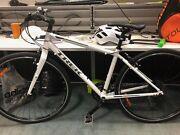 Trek Fx3 hybrid commuter bike white new Carlton Melbourne City Preview