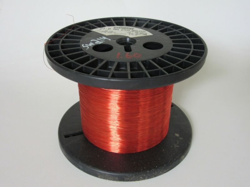 31 AWG  1.60 lbs. Phelps SNYLZ155 Enamel Coated Copper Magnet Wire