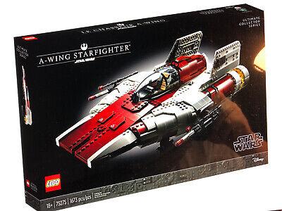 LEGO A-Wing Starfighter UCS Star Wars 75275 2020 Brand New Set! No Mini figure.
