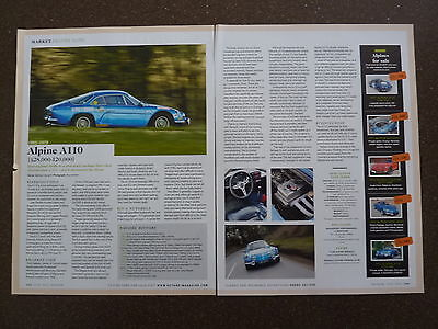 ALPINE A110 (1962-78) - Buying Guide Article