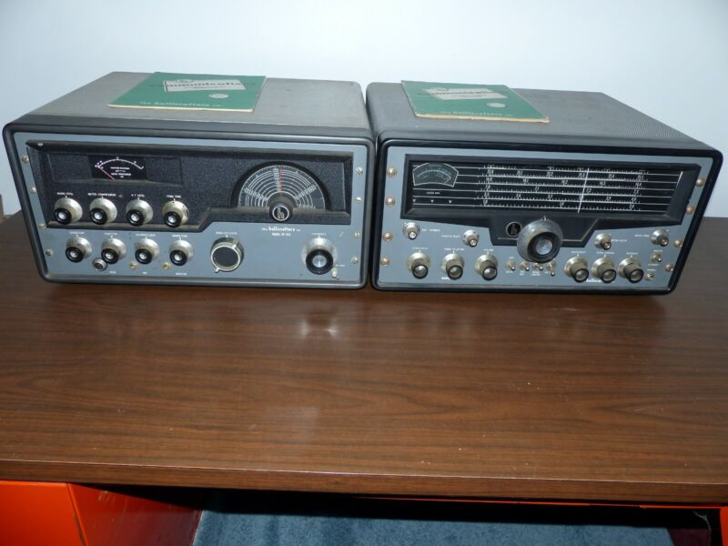 HALLICRAFTERS SX-101MkIII / HT-32A PAIR EXTRA NICE