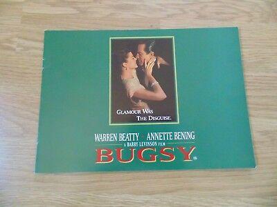 BUGSY ORIGINAL 1991 CINEMA MOVIE FILM CAMPAIGN PRESS BOOK Warren Beatty
