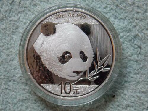 2018 Chinese Silver Panda 10 Yuan 30 grams BU