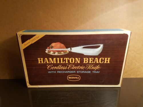 Vintage 1960s Hamilton Beach Scovill Cordless Rechargable El