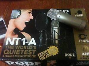 Rodes NT-1 mic unused with accessories Bondi Beach Eastern Suburbs Preview