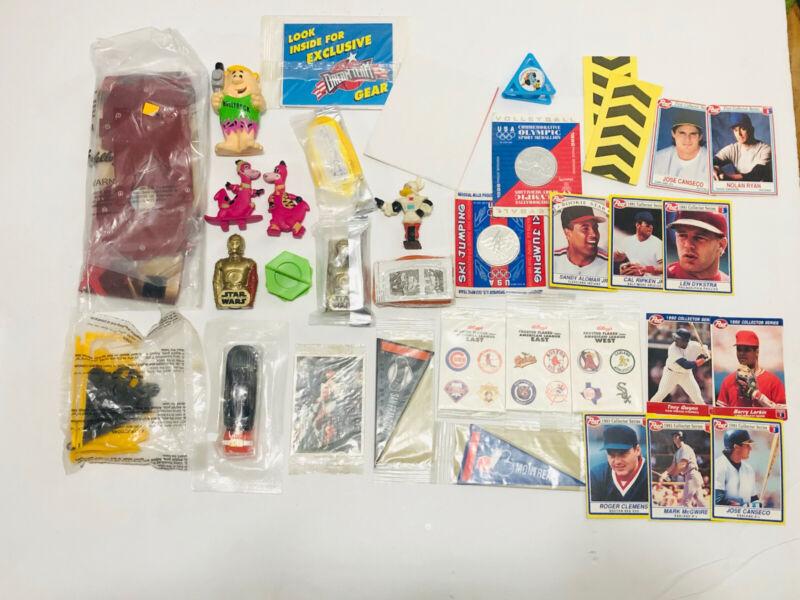 Huge Lot Of Cereal Toys / Premiums - Mostly Vintage