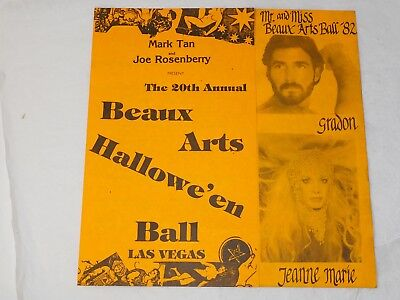 Vegas Halloween Ball (1982 BEAUX ARTS HALLOWEEN BALL DUNES HOTEL LAS)