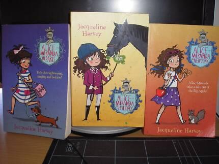3 Alice Miranda books by Jacqueline Harvey