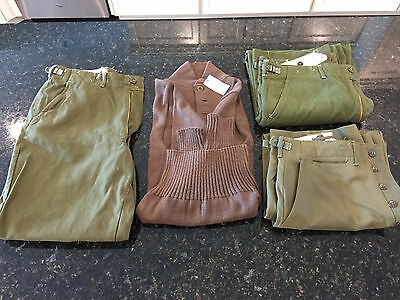 US Military Wool Uniform Lot (Korean War)