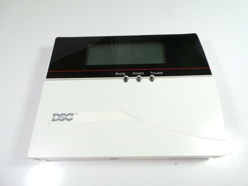 DSC LCD5501Z Fixed English ALARM SECURITY Keypad USED GRADE C