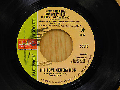 Love Generation 45 Sweet It Is   Consciousness Expansion   Imperial Vg  To Vg