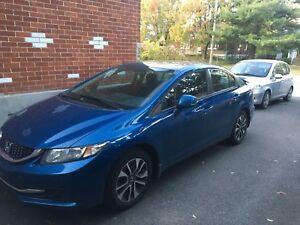 Honda Civic EX 2013 à vendre - 12000 $