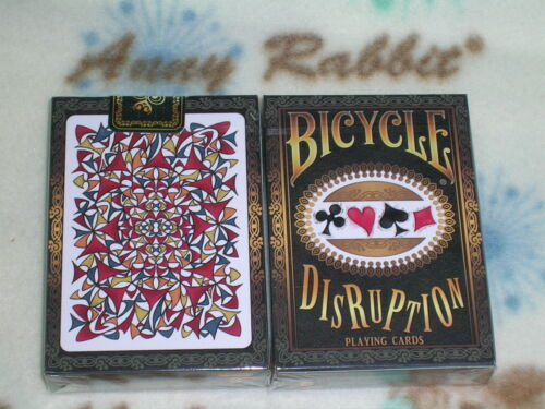 1 deck Bicycle Disruption  Playing Cards Deck