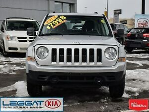 2012 Jeep Patriot Sport | FWD | AUX | FOGS | AS-IS