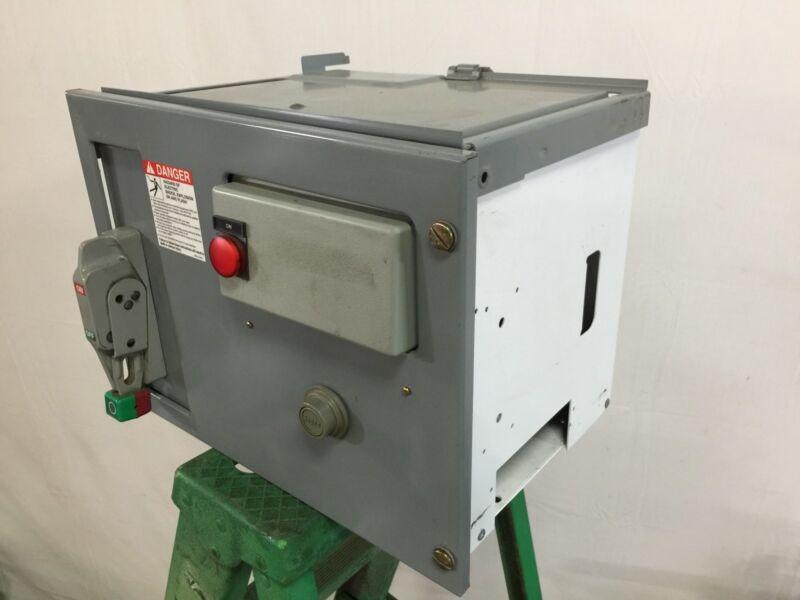 Square D Model 6 Motor Control Center Bucket, 1 HP, NEMA Size 1, 3 Phase, 480V