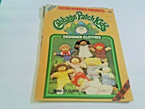 Cabbage Patch Kids Designer Clothes Ready-To-Cut Sewing Patterns Make 25 Outfits