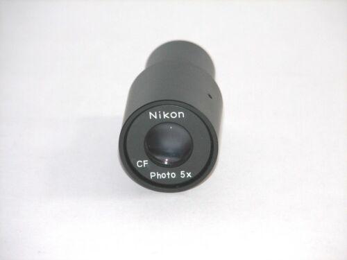 Nikon 5x Relay photo lens for camera adapter on Leitz microscopes