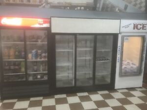 Coolers and freezer for sale