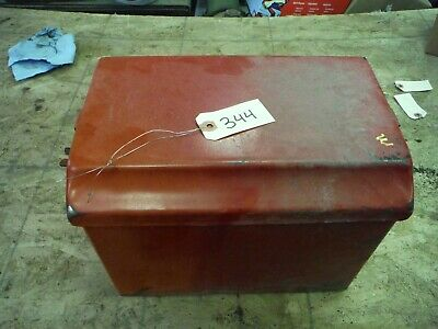 Ih Farmall M Tractor Battery Box With Lid No Rust 344