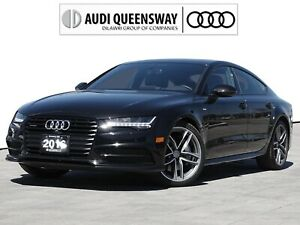 2016 Audi A7 3.0T Technik|No Accidents|Black Ops|One Owner
