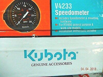 Kubota Rtv900 Rtv500 Speedometer Kit V4233 K7561-99650 Utility Vehicleutv