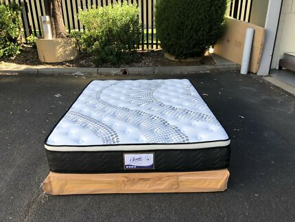 【BRAND NEW】【POCKET SPRING】28cm thickness Eurotop mattress queen$430