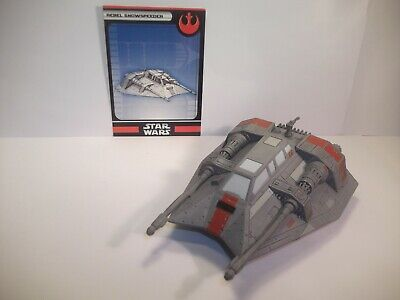 Star Wars Miniatures - Rebel Snowspeeder 12/60 + Card - Bonty Hunters