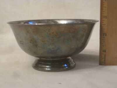vintage Reed & Barton 102 silver-plate bowl metal dish silverplated