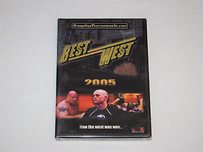 Best of the West 2005 OTM Grappling Tournaments MMA Tap Out DVD New Sealed (Best Of The West Wrestling Tournament)