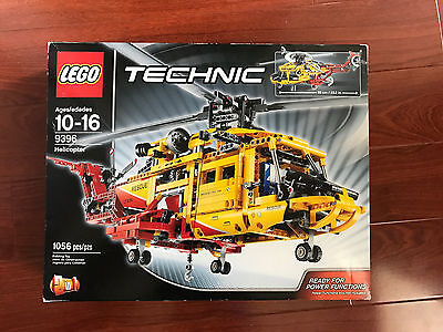 Lego Technic Helicopter 9396 Set Sealed Brand New