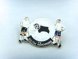 Derby-v-Bolton-Wanderers-2013-14-Championship-Match-Day-Badge-Football-Badge