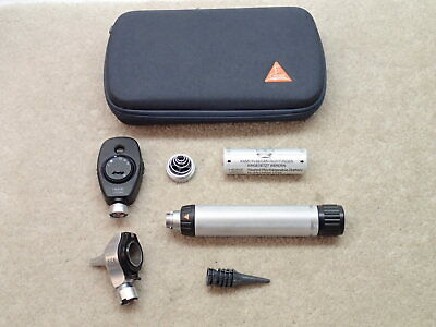 Heine Beta 200 Opthalmoscope Beta 400 Otoscope Diagnostic Set Germany Nice
